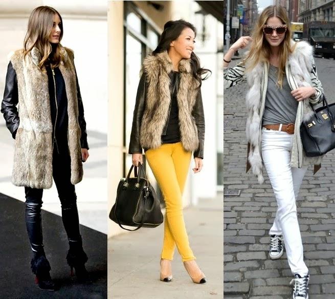 fashioncollectiontrend: fur fashion, fur vest models 2014 ...