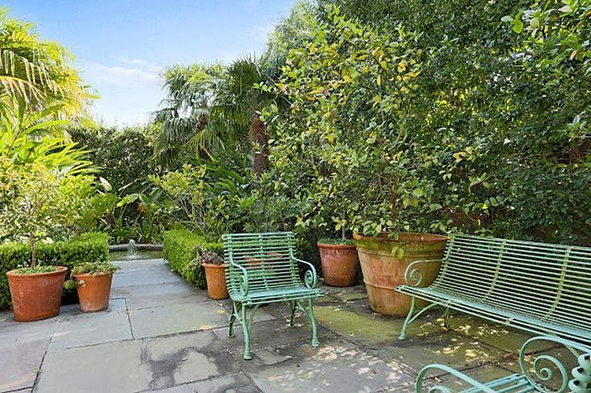 Garden Furniture New Orleans julia reed's house in new orleans | a flippen life