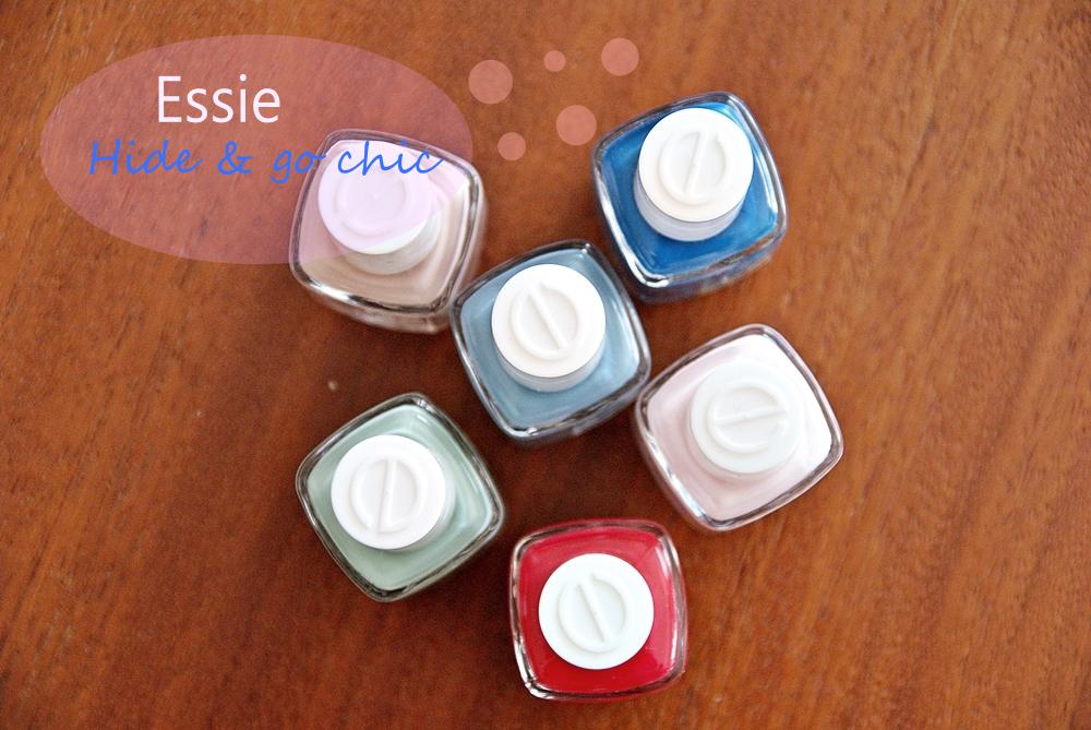 Essie Hide & Go Chic - prezentacja kolekcji
