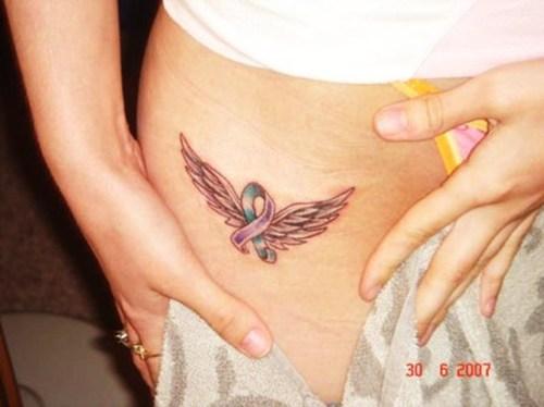 angel wing tattoos