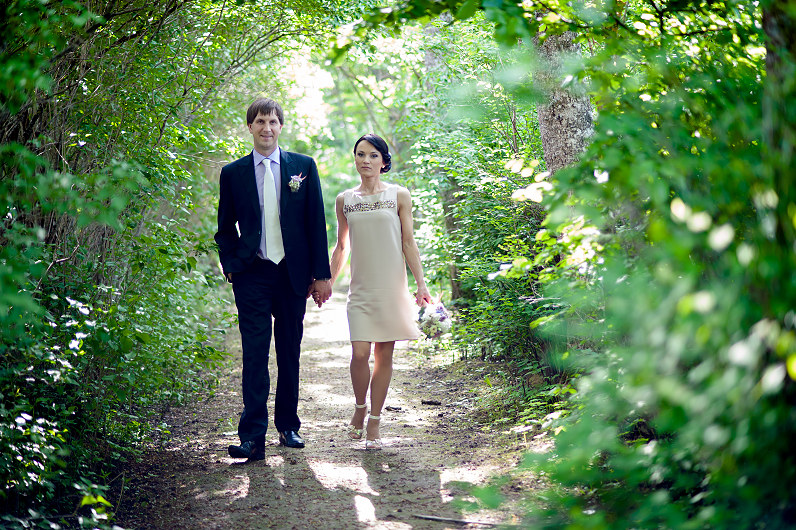 netradicinė vestuvinė suknelė