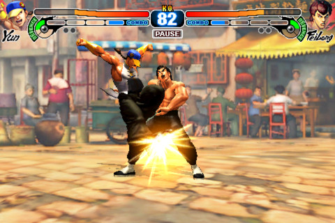 Street Fighter IV Volt for iPhone