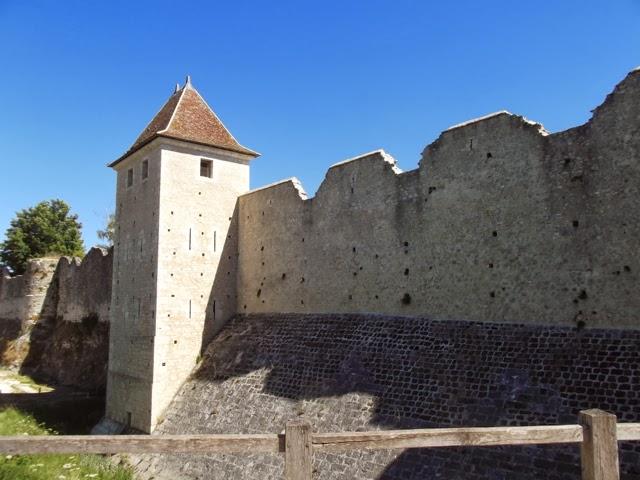 Provins medieval walls