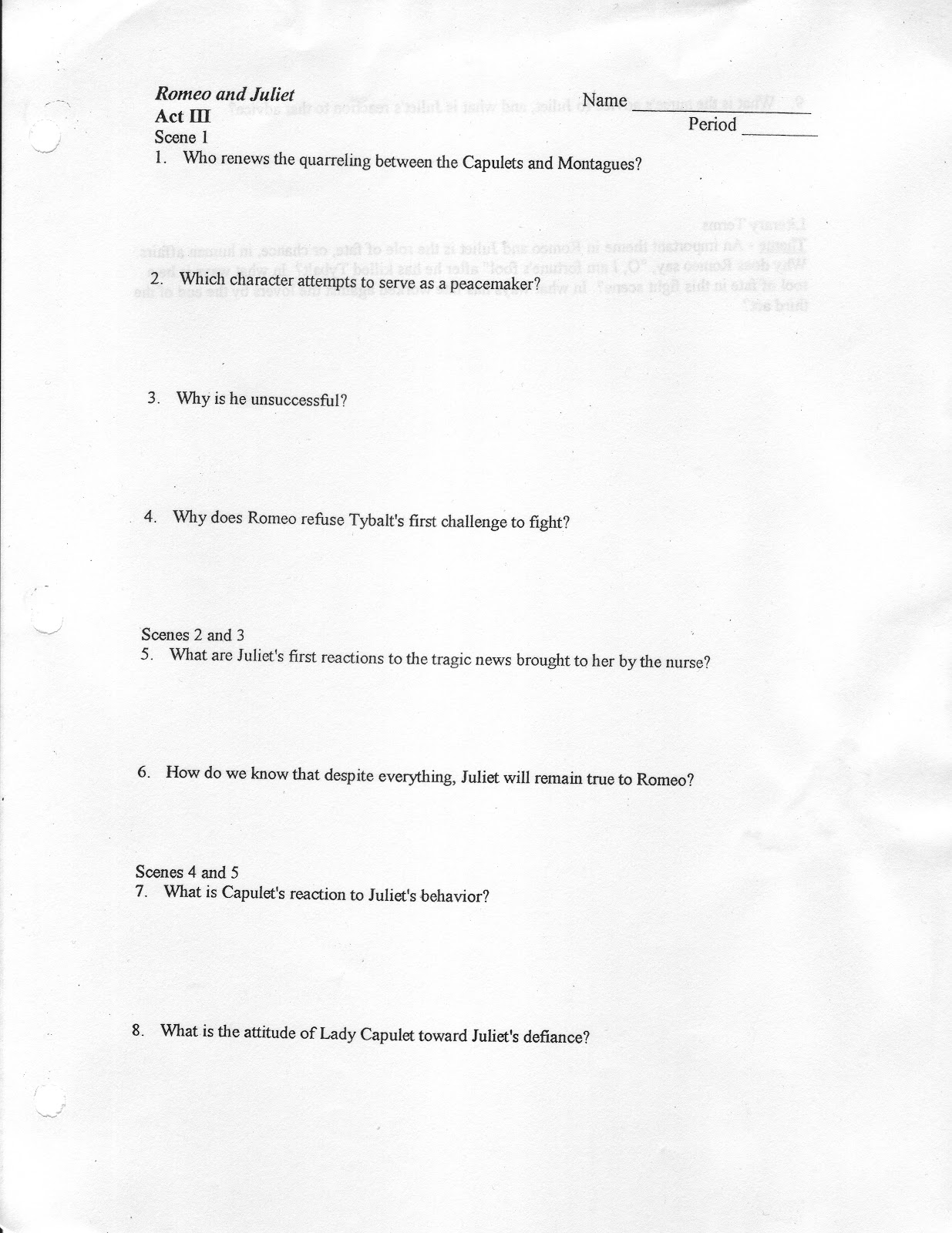 stewie s english romeo and juliet act iii study guide romeo and juliet act iii study guide