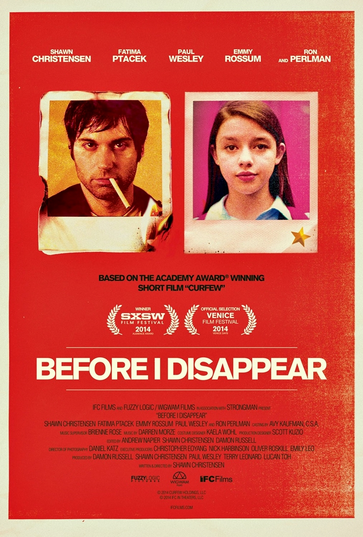 Póster: Before I Disappear