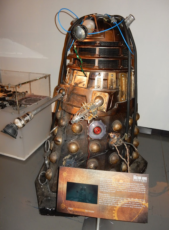 Doctor Who Defective Dalek Rusty