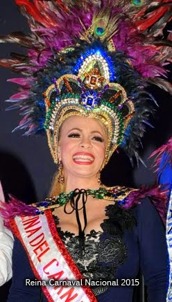 Reina Desfile Nacional Carnaval Dominicano 2014