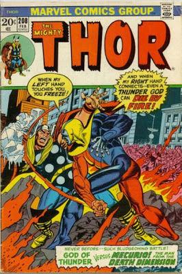 Thor #208, Mercurio