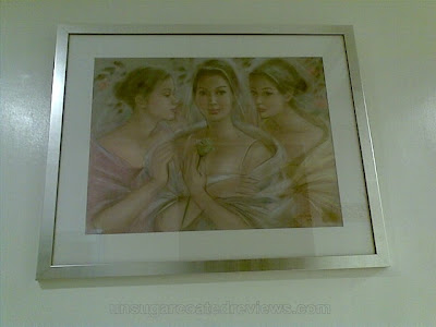 painting at the waiting area of MEDIcard Skin and Body Laser and Aesthetic Care Center
