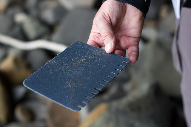 plastic piece of driftwood similar to a comb