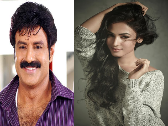 Sonal Chauhan playing female lead in Balakrishna Dictator