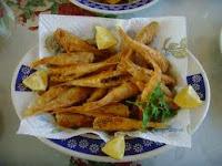 Receta de Salmonetes fritos