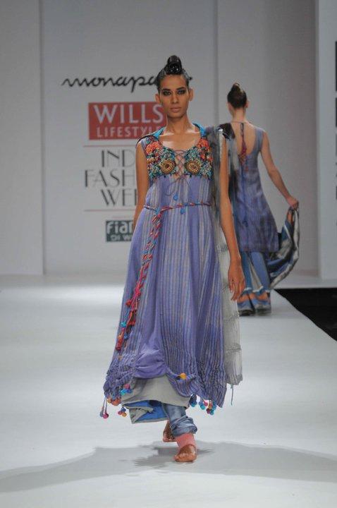 Wills Lifestyle India Fashion Week Monapali Autumn
