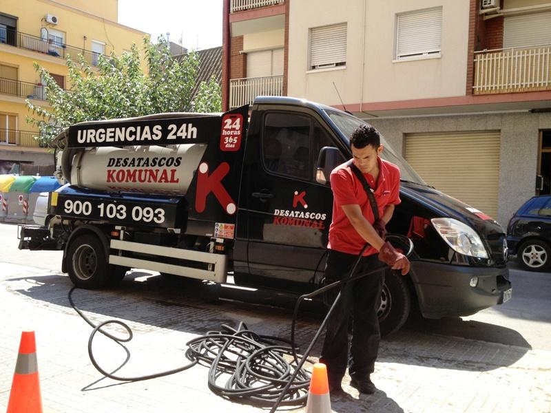 Desatascos de tuberías en Hospitalet de Llobregat