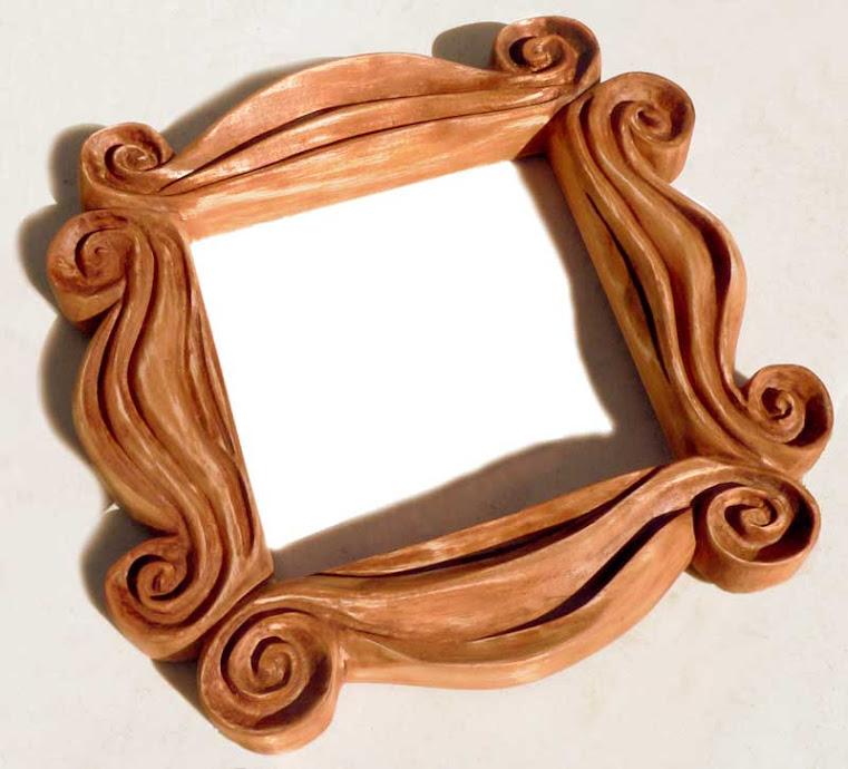 Moldura de espelho, vista por outro ângulo