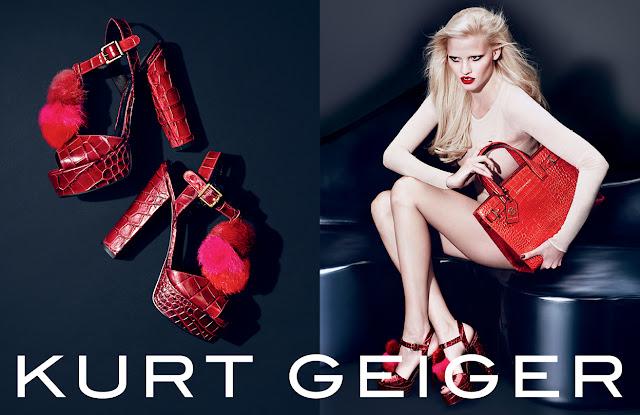 Kurt Geiger AW15 ad Campaign