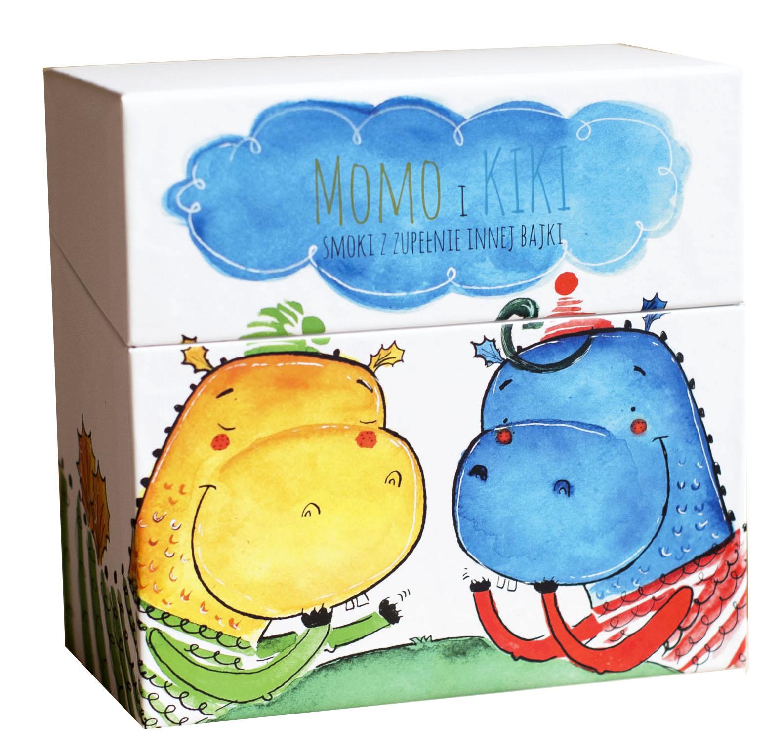Zilustrowałam książki: Momo i Kiki