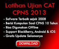Soal Latihan Ujian CAT CPNS 2013 KLIK DISINI