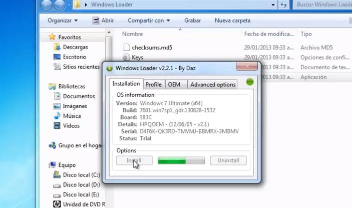 descargar generador de seriales para windows 7 ultimate