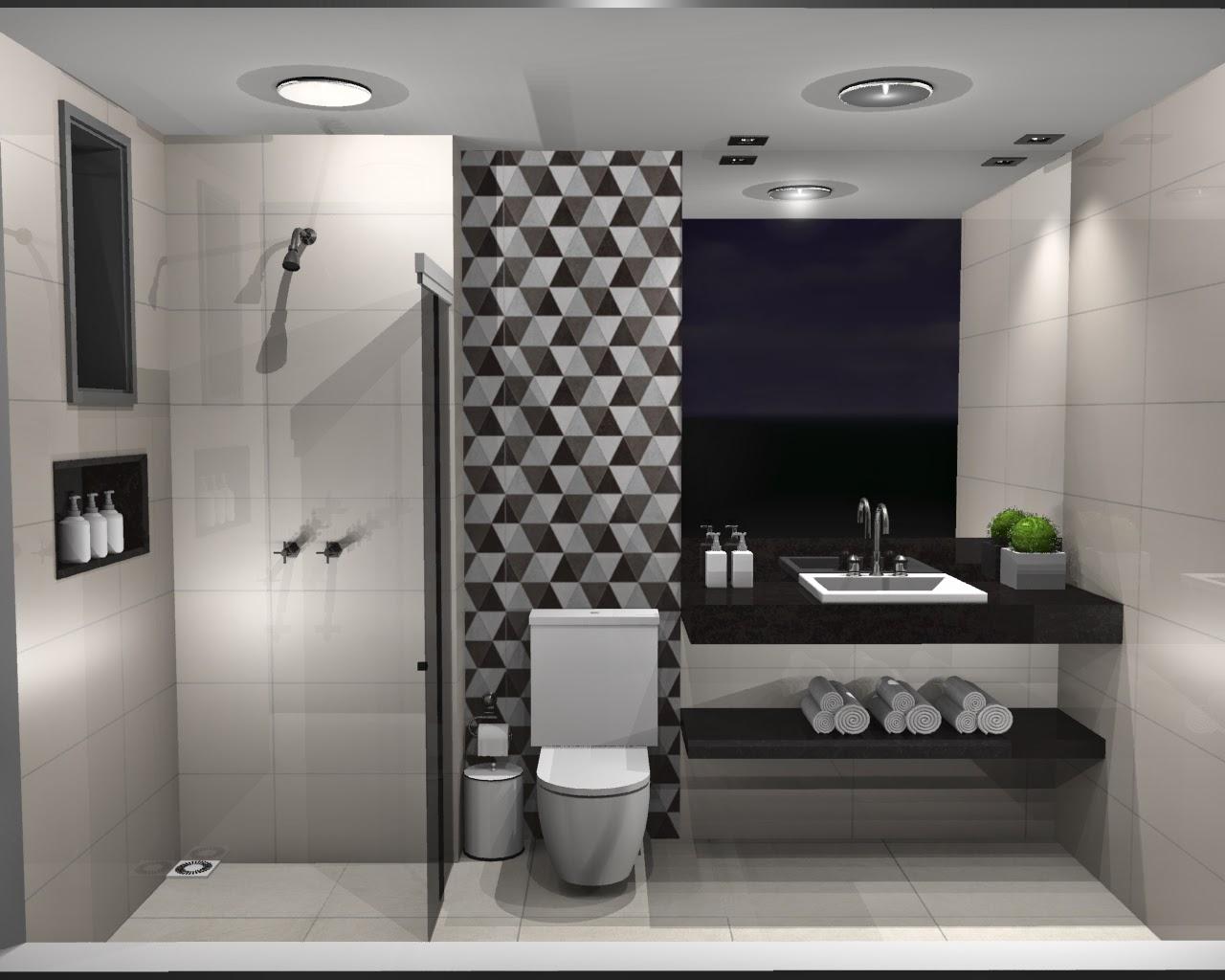 Porcelanato acetinado com estampa geométrica tamanho 60x60 retificado #496123 1280x1024 Banheiro Com Porcelanato Retificado