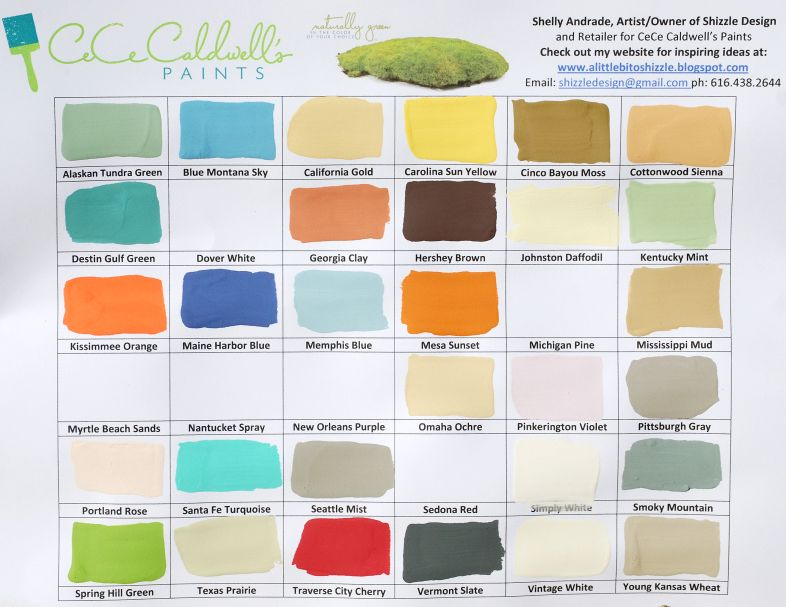 CeCe Caldwell's New Paint Colors are Here! — Shizzle Design