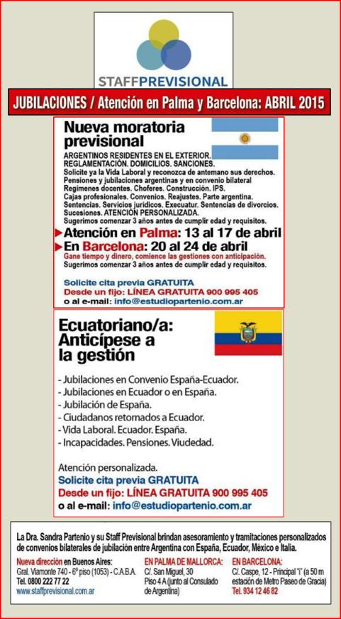 Nueva Moratoria Previsional para Residentes Argentinos en el Exterior