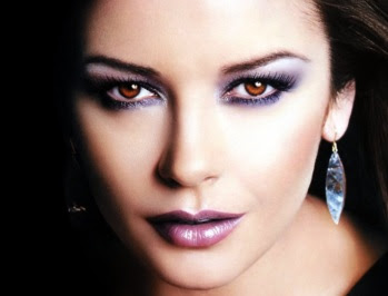 Rostro de Catherine Zeta Jones
