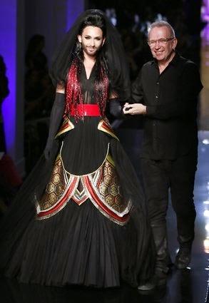 Conchita Wurst Paris moda