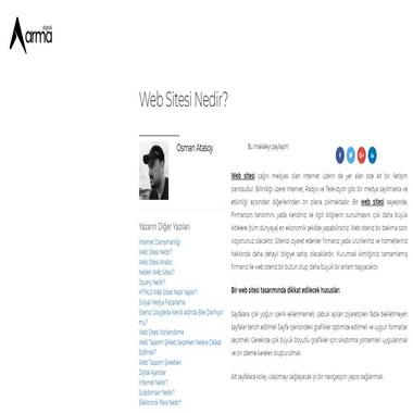 armadigital net - web sitesi nedir