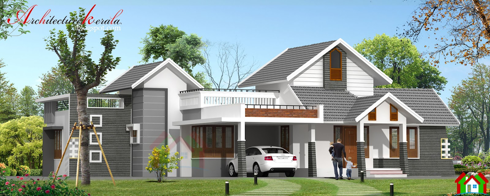 Architecture kerala single storied kerala house design for Home designs for kerala
