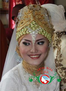 jilbab melati pengantin akad