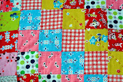 Scrappy squares quilt