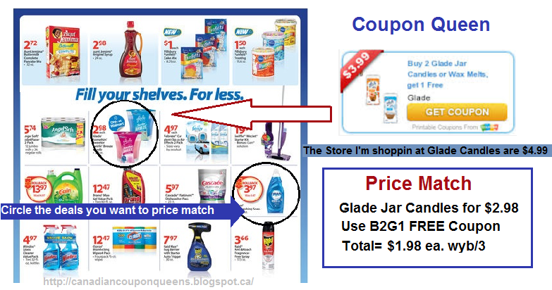 Coupon Queen Price Match With Flyers