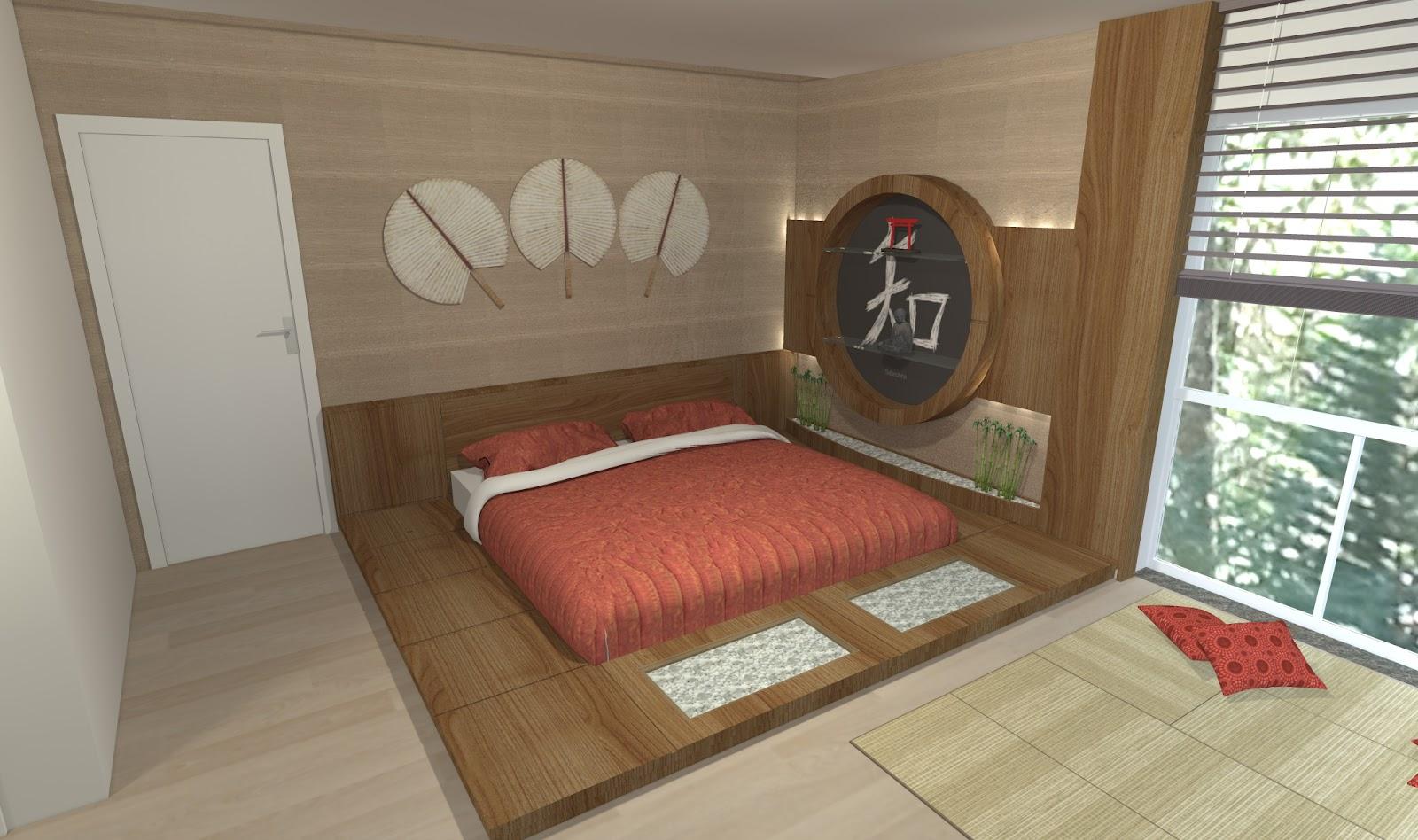 Sekai Projetos e Interiores Quarto japonês ~ Quarto Tematico Japones