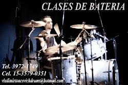 CLASES DE BATERIA VLADIMIR