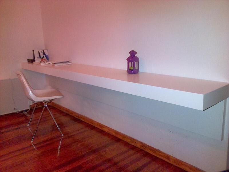 Huara muebles escritorio mesa de trabajo flotante - Escritorio mesa de trabajo ...