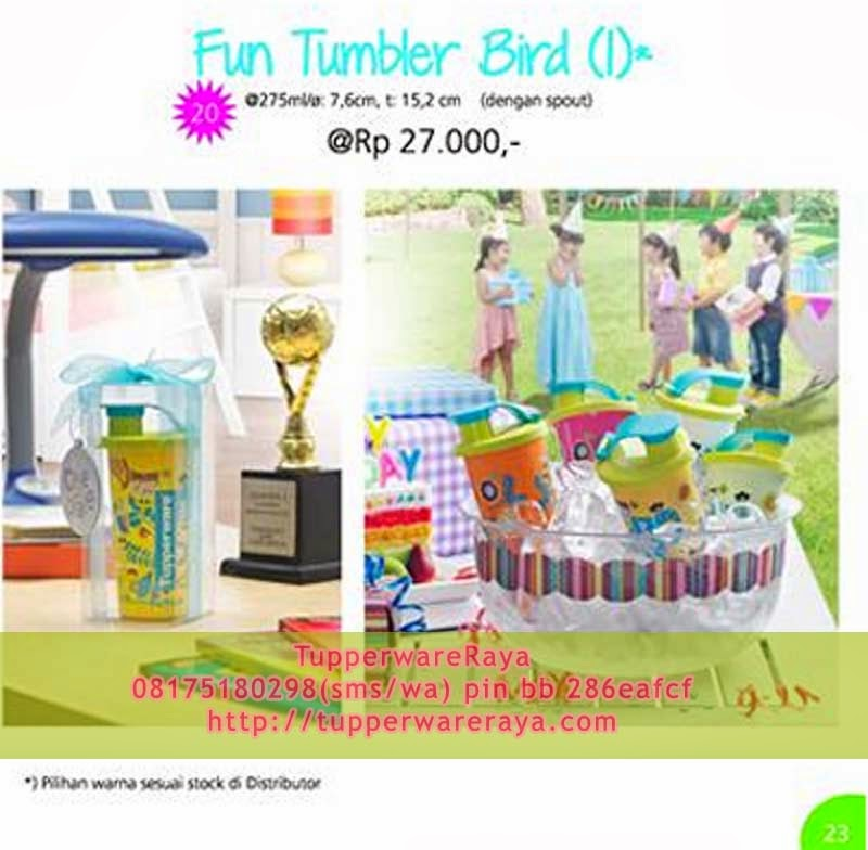 Tupperware Promo Oktober 2013 - Fun Tumbler Bird (1)