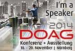 DOAG Konferenz 2014