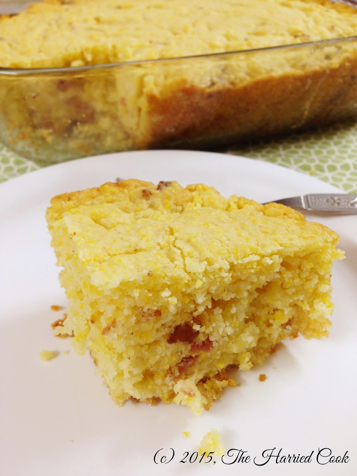 The Harried Cook Secret Recipe Club Bacon Cheddar Cornbread