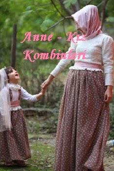 Yeni Moda : Anne - Kız Kombinleri ;)