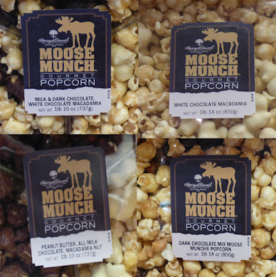 Four regular flavors of Moose Munch