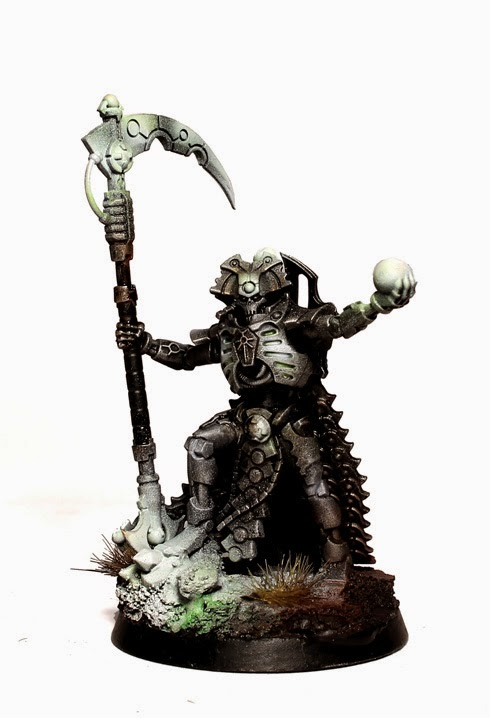Painting White On Minatures