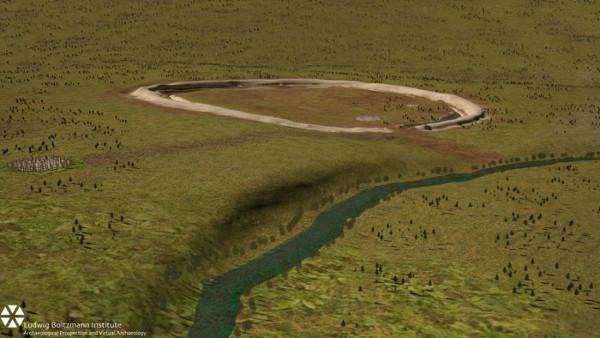 Super Henge, Tembok Durrington