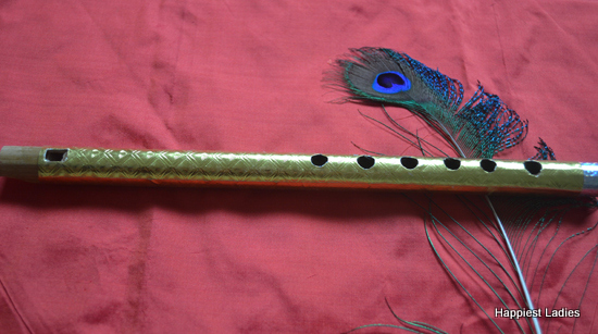 decorative flute for krishna fancy dress