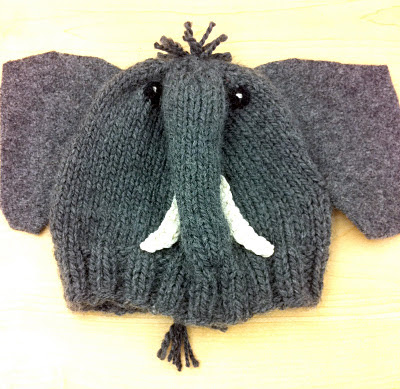 One Knit One Purl: Elephant Hat