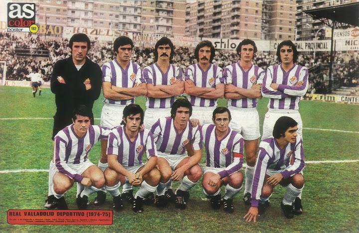 Futbol espa ol recopilaci n real valladolid 1974 75 - Fotos del real valladolid ...
