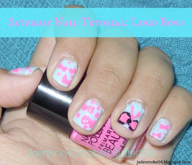 Saturday Nail Tutorial: Loud Bows