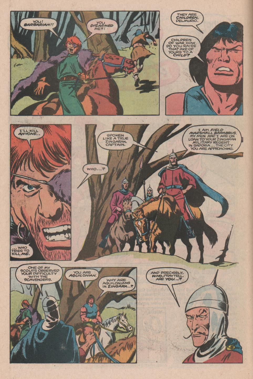 Conan the Barbarian (1970) Issue #174 #186 - English 7