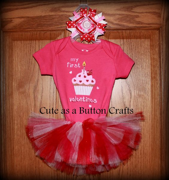 MY FIRST VALENTINES DAY BABY CLOTHES – MY 1ST VALENTINES DAY ...