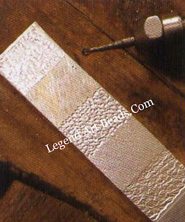 Using a flexible shaft machine  Some of the finishes that can be achieved by using different tools in the flexible shaft machine.